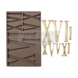 """Prima Marketing Re-Design Mould 5"""" X 8"""" - Numerals"""