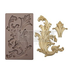 Prima Marketing Re-Design Mould - Portico Scroll 2