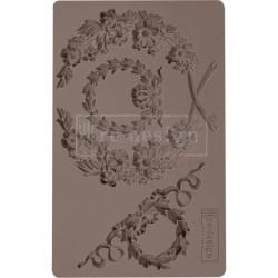 "Prima Marketing Re-Design Mould 5"" X 8"" - Laurel Wreath"