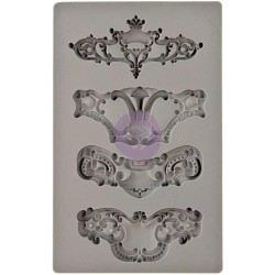 Iron Orchid Designs Vintage Art Decor Mould - Royale
