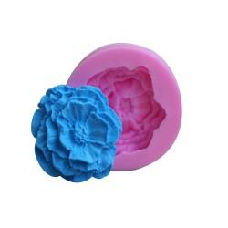 Single Rose Silicon Clay Mold