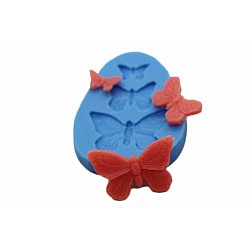 Butterflies Silicon Clay Mold