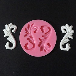 Floral Swirls Silicone Clay Mold