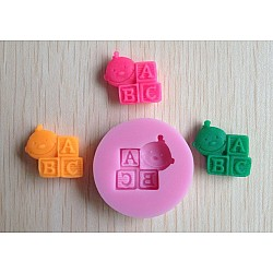 Baby Blocks Silicone Clay Mold