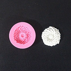 Single Chrysantheum Silicone Clay Mold