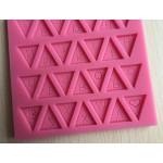 Alphabet Banner Silicon Clay Mold