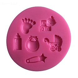 Baby Toys Silicon Clay Mold