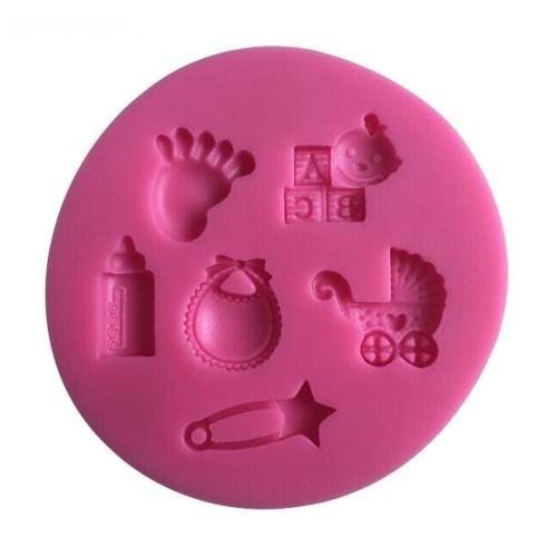 Baby Toys Silicon Clay Mold