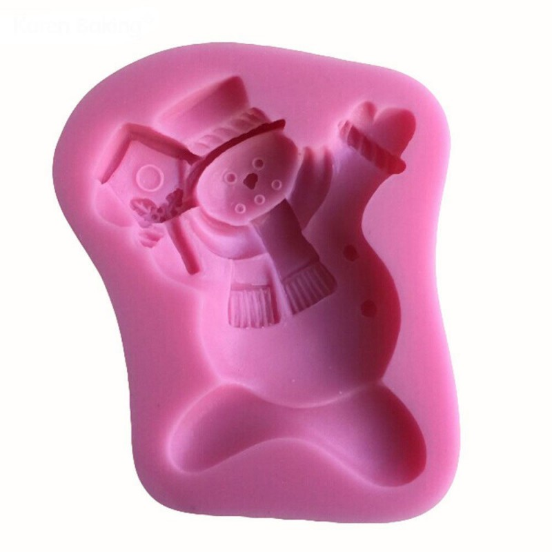 Buy Snowman Silicon Clay Mold Online In India At Best