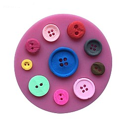 Multiple Buttons Silicon Clay Mold
