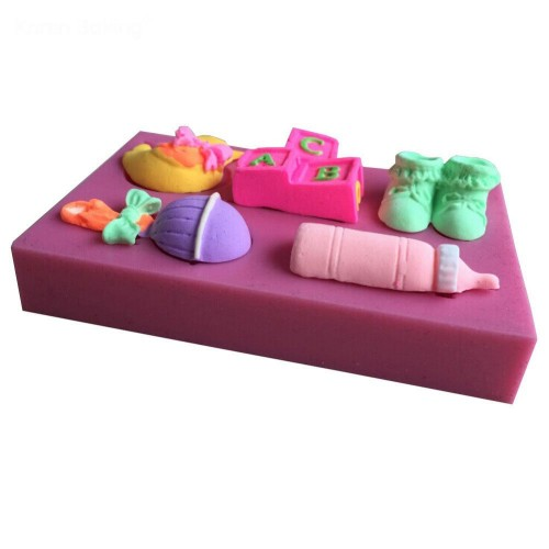 Baby Care Silicon Clay Mold