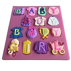 Baby Themed Silicone Clay Mold