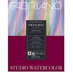 "Fabriano Studio WaterColor Paper - 200GSM - 7X9.5"" (20Sheets)"