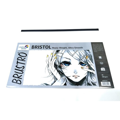Brustro Ultra Smooth Bristol 250 GSM (A4)