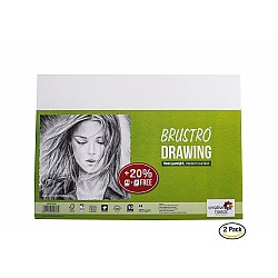 Brustro Drawing Paper - 200 gsm - A4