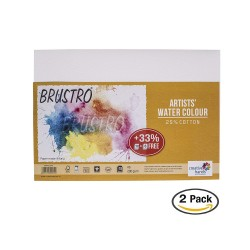 Brustro Artists WaterColor Paper (25% Cotton) - 200 gsm - A5