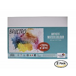 Brustro Artists WaterColor Paper (25% Cotton) - 300 gsm - A3