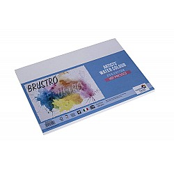 Brustro Artists WaterColor Hot Pressed Paper (25% Cotton) - 300 gsm - A5