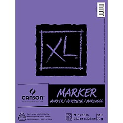 Canson XL Marker Paper Pad 9X12