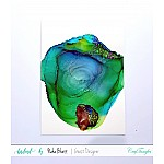 CrafTangles alcohol ink paper (Pack of 10 sheets) - 5by7 inch