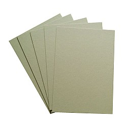 CrafTangles Lightweight Chipboard (Set of 5 sheets) - A4 (1200 gsm)