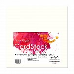 CrafTangles cardstock 12 by 12 (240 gsm) (Set of 10 sheets) - Natural White