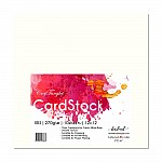 "CrafTangles cardstock 12"" by 12"" (270 gsm) (Set of 10 sheets) - Iris"