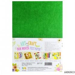 A4 Felt Sheets - Dark Green (Pack of 10 sheets)