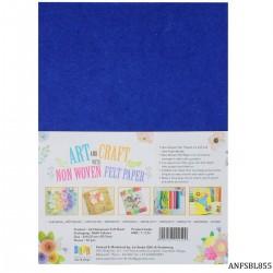 A4 Felt Sheets - Blue (Pack of 10 sheets)