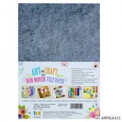 A4 Felt Sheets - Light Grey (Pack of 10 sheets)