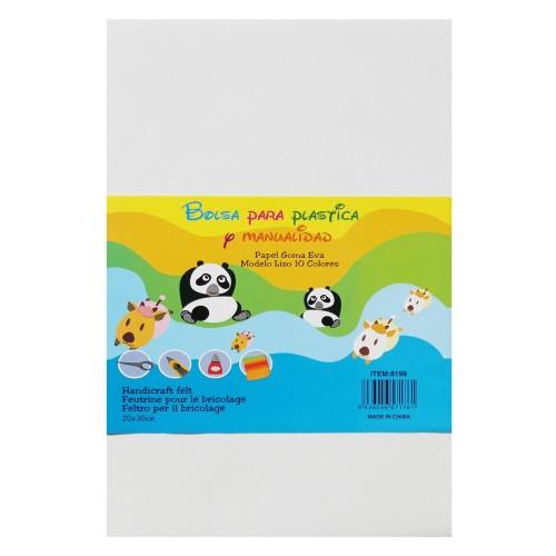 Foam Sheets - White (10 sheets) (Craft Foam)