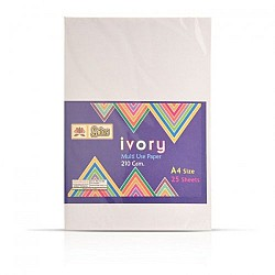Lotus Ivory Sheet A4 - Pack of 25 Sheets