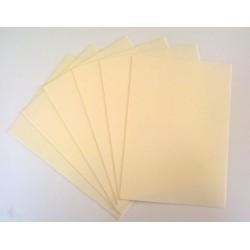 Foam Sheets - Light Cream / Natural White (10 sheets) (Craft Foam)