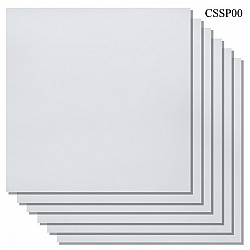 "Cardstock 12"" by 12"" (300 gsm) (Set of 6 sheets) - White"
