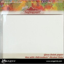 Tim Holtz Alcohol Ink Cardstock By Tim Holtz 20/Pkg