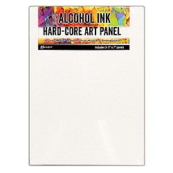 "Tim Holtz Alcohol Ink Hard Core Art Panel 5""X7"" 3/Pkg by Ranger"