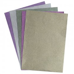 Mix Glitter Sheets (Set of 5 sheets)