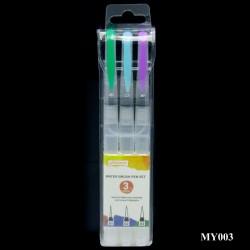Water Brush Pen Set of 3