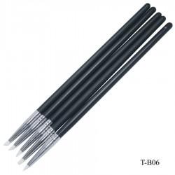 Painting Brush silicone 5 pcs (T-B06)
