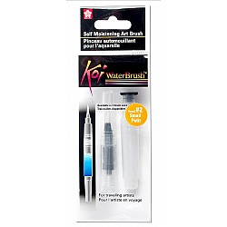 Sakura Koi Portable Water Brush (4 ml Barrel) - Small (Transparent White)