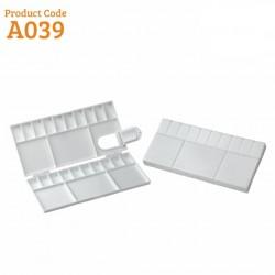 Khyati Colour Mixing Plate / Palette - Rectangle Box Small