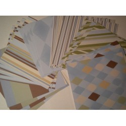 20 Sheets of 6 X 6 (single sided) Jovial Collection