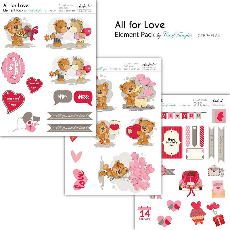 All for Love - Elements pack