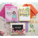 CrafTangles Elements Pack  - Spring Flowers 2 (3 sheets of A4)