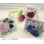 CrafTangles Elements Pack  - Colorful Flowers 5 (3 sheets of A4)