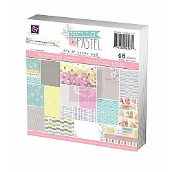 Prima - Hello Pastel - 6x6 Paperpack (48 sheets)