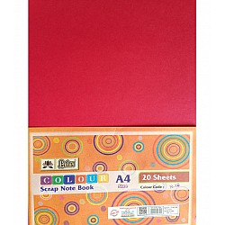 Lotus Coloured Cardstock - A4 (Deep Pink) - 20 Sheets