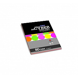 CAMPAP Cyber Colour Paper - 5 Mixed Colors