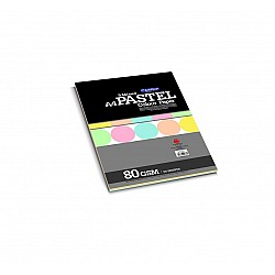 CAMPAP Pastel Colour Paper - 5 Mixed Colors