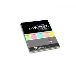 CAMPAP Pastel Colour Paper - 5 Mixed Colors
